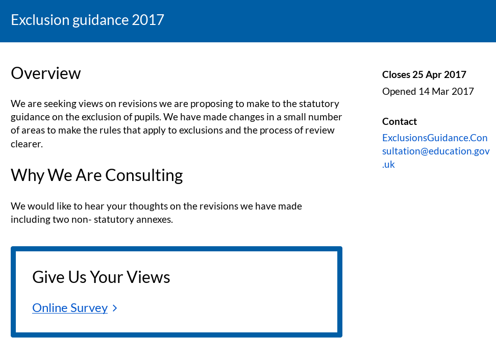 consultation page